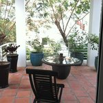 Anise Villa Room 201 Side Patio