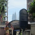 View of the Petronas from Little India