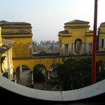 Vista dalla casa museo