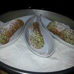 Cannoli al pistacchio freschi