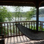 Family suite veranda with the hammock