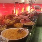 Sala colazione, Reparto frutta e salato