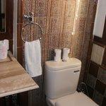 Sparkling bathroom!
