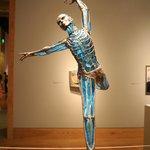Une des oeuvres contemporaines exposée au Museum of Art