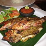 another great meal here. This time grilled fish.