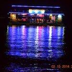 Floating bar of Blue Rock