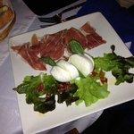 Mozza Parma etricolore al Marco Polo