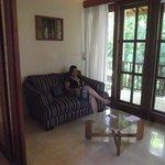 Ruang Duduk Di Dalam Villa