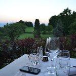Vistas del Golf desde nuestra mesa
