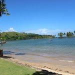 View from naviti beach