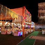 photo of wedding arrangements