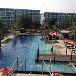 View from Deluxe Poolview Room @AmariHuaHin