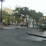 View of Town Square from front of Hotel Plaza De Armas