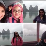 Halong Bay, a magical experience... or a sleepy time for some! LOL