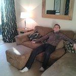 Living room - Sofa and TV