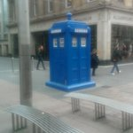 Just down the road from the hotel...hope it's still there. One never knows Dr Who's movements !