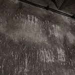 Scratch marks inside gas chambers
