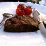 USDA hangar steak was tiny