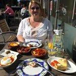 Tapas at La Tasca in sunny(!) Newbury