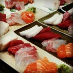 The best sashimi I've ever tasted, ready to serve