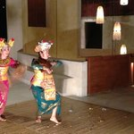 Dance performance in the lobby
