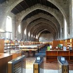 Visitando la Biblioteca de Catalunya