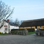 Stone Barn and Thatched Cottage