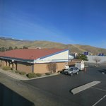 Super 8, Carson City - view out window