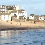 Sunny February day in St Ives