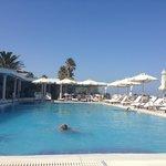 meravigliosa piscina dell'albergo