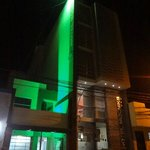 Fachada en verde