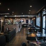 Intérieur Amaretto Caffe Lounge, du cosy et du design!