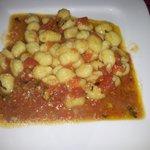 Ñoquis en salsa de Tomate Basilico