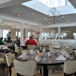 Breakfast Dining at the Harbor View Hotel
