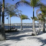 View of the bridge over the Manatee River from Riverwalk