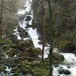 Lodore Falls, in spate!