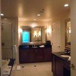 Bathroom with Shower & Whirlpool Bath