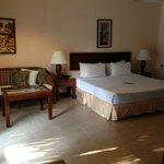 Bedroom in Frangipani Resort villa