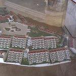 Miniaturemodel af hotellet