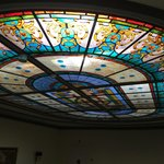 Glasdecke Treppenhaus