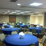 Beautiful Meeting Room Set-Up for Reunion