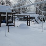 play set in winter