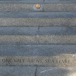 'One Mile Above Street Level' on the Capital steps