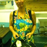the lady who works magic in the kitchen