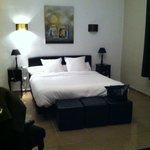 la chambre avec lit king size