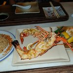 Lobster grilled