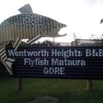 Wentworth Heights B&B sign