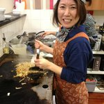 Kyoko the talented chef!