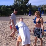 giochi di spiaggia a PortoMannu