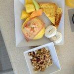 Great breakfast buffett, lots of healthy options